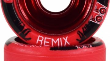 Backspin Remix Wheels Red
