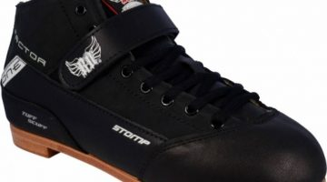 RollerDerby Elite Stomp Factor 1 Boots Black