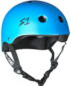 S 1 Lifer Helmet Cyan Matte