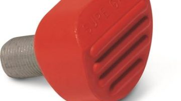 Sure-Grip Gripper Toe Stop Red